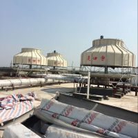 供应郑州菱宇350吨圆形逆流式冷却塔