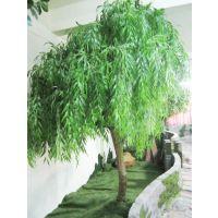 广东厂家批发仿真柳树 玻璃钢仿真垂柳树 遮阴树