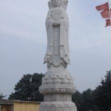 顺利石雕厂供应2.8米花岗岩观音雕塑,十八罗汉像。石头佛像。