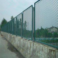 球场围网 场地勾花护栏网 绿色钢丝钩网