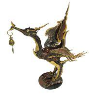 泰国进口  东南亚家居铜艺特色摆件 天鹅烛台