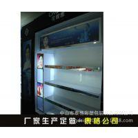 中山厂家生产有机玻璃化妆品柜 亚克力透明手机展示架