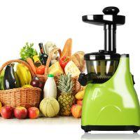 新款家用全自动多功能低速原汁机 婴儿辅食 水果蔬菜新鲜榨汁机