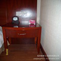 供应实木床头柜批发 扪皮床头柜 酒店床头柜---杭州花家山庄