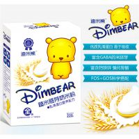 正品迪米熊 糙米胚芽奶婴儿辅食 婴儿营养米粉 宝宝米糊 盒装225G