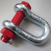长期现货供应优质U型镀锌卸扣 弓型船用卸扣