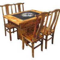 海德利厂家直销武汉火锅桌椅批发专业定做不锈钢火锅桌批发代理