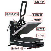 画王 气动服装印花转印机 手动直压抽拉式烫画机CK3804C-2