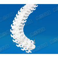上海典鑫供应83平板塑料链 83齿形链条 103柔性链板