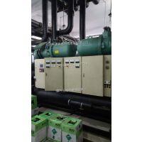 中央空调美意制冷机组维修 机组报失油故障维修