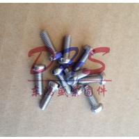 东鸿盛304一字槽盘头螺丝 不锈钢一字头螺丝