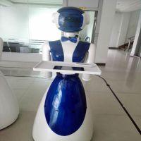 新款送餐迎宾机器人语音互动人形机器人 平板遥控语音控制送餐