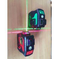 名木坊3D激光水平仪红光绿光12线贴墙仪360°方位水平仪