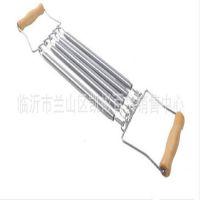 木柄加强型弹簧拉力器 胸肌锻炼体育用品10元配货货源