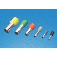 欧式端子 供应DET欧式管型绝缘端子 冷压接线端头 接线铜鼻子端子