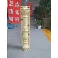 厂家直销供应郑州天艺雕花螺旋廊柱70cm高 花瓶葫芦柱 水泥栏杆 模具