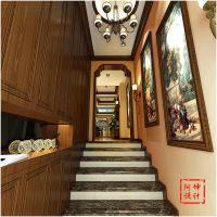 大户型精装修【花溪地】138平美式装修风格|青岛实创装饰