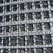 旺来钢绞线轧花网 振动轧花网 不锈钢席型网
