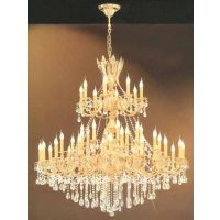 精品推荐,别墅包房高档豪华多层水晶玻璃吊灯,全铜灯,工程定制灯。
