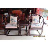 客厅古典休闲圆椅卷椅