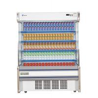 蓝诺立式连体机组1.2米敞开式风幕柜水果蔬菜冷藏展示柜SLG-1200F