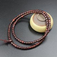 厂家批发 印度小叶紫檀108颗佛珠手链 新款桶珠手串 款式可定制