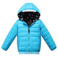 【贴牌加工】韩版童羽绒服 男童羽绒服 品牌童装羽绒防寒外套