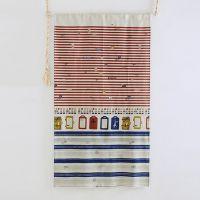 日式门帘 日本寿司店装饰 日式半帘 外贸布艺布帘