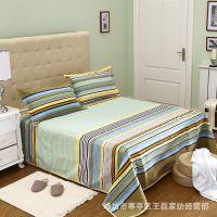 跑江湖老粗布床单被单枕套地摊货源老粗布床单加厚被套赶集老粗布