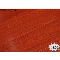 厂家供应 拼花地板仿古强化复合木地板 汇丽防水地板 优良品质