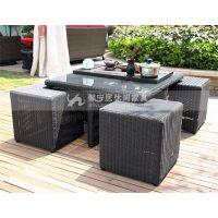 户外铸铝家具 别墅休闲家具户外园林桌椅