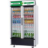 立式展示柜饮料冷藏柜双开门冷藏柜茶叶立式展示保鲜柜冰柜冷柜