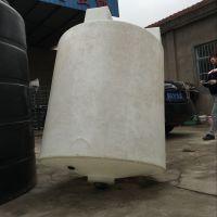 宿州供应2000L酸碱溶药箱 pe塑料2吨化工处理箱