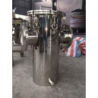 杭州康强水处理 不锈钢材质 篮式过滤器标准