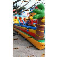 气垫玩具城堡哪里能批发 公园里孩子跳的蹦床城堡报价 充气城堡如何经营