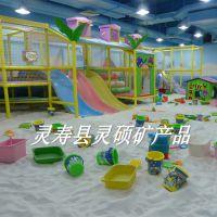 供应高尔夫球场白沙批发质感天然圆粒砂儿童娱乐沙沙滩浴专用沙