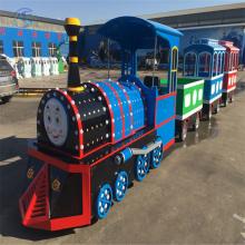 好玩的儿童游乐设备轨道小火车河南嘉信低价直销