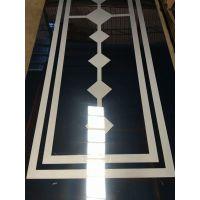 厂家供应304黑色不锈钢拉丝板