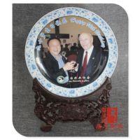 定制人物陶瓷赏盘 习主席纪念盘 中国梦瓷盘