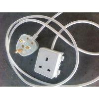 【企业集采】BS认证组装英式电源线 英标插座电源线、AC电源线