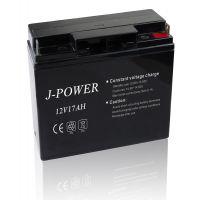 供应12V17AH捕鱼器铅酸电池足容量捕鱼器小电瓶专用12V铅酸