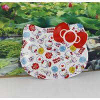 厂家直销卡通水果盘 餐盘 KT点心盘塑料密胺 儿童餐具