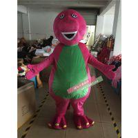 绿和卡通外贸特供恐龙卡通服装班尼恐龙人偶服吉祥物人穿玩偶动漫表演服饰