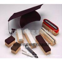 厂家直销吸尘毛毡板擦 优质黑板擦 木质板擦
