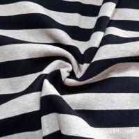 32s 全棉1*1 罗纹布  针织面料 服装面料 彩色条纹罗纹收口面料