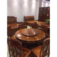 新中式餐台款式新中式餐台图片价格红木家具名琢世家品牌