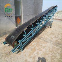 传输机的制作方法 代替人工装卸车 润华电动新款传输机