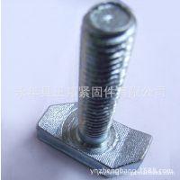 包邮产品,16*60热镀锌玻璃幕墙专用螺丝,高品质幕墙T型螺丝!