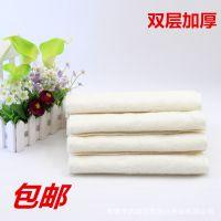 家务清洁百洁布 一元店日用百货 竹纤维抹布洗碗巾 白18*16M