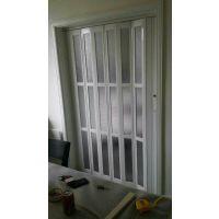 供应重庆PVC商场折叠门隔断门